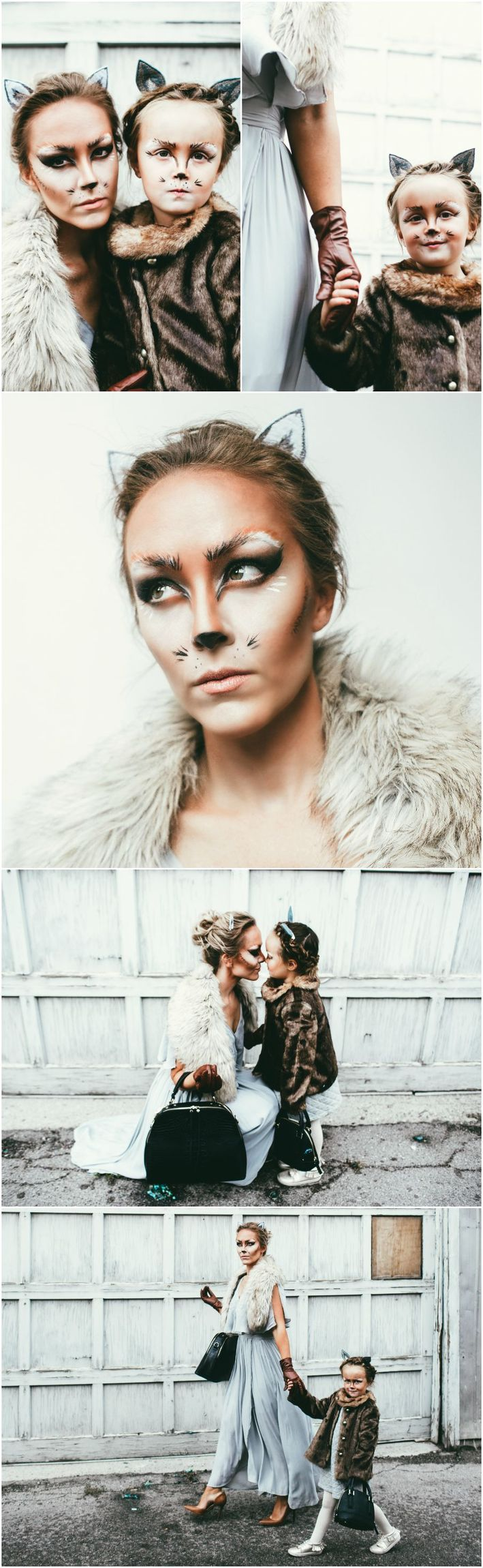 The Lovely Foxes | a Halloween mother-daughter look