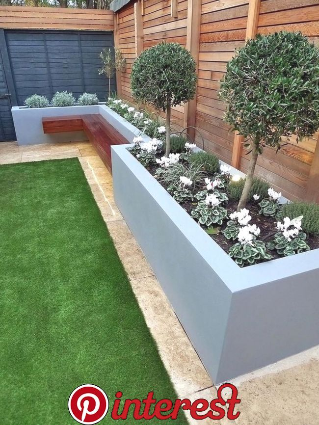 20 Minimalist Garden Design Ideas For Small Garden Small Garden Design Ideas Are Not Si Backyard Landscaping Designs Back Garden Design Modern Garden Design