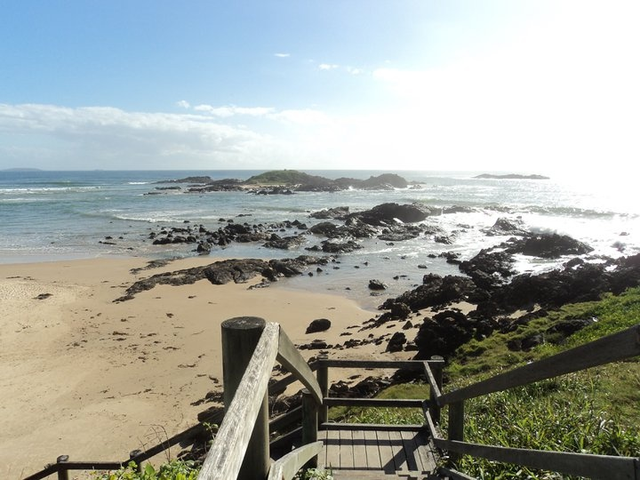 view from my favourite place in the world-sawtell headland