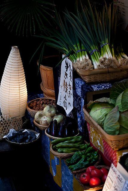 vegetables of Kyoto, Japan - 京野菜など, 日本