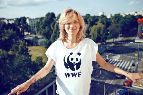Mela Koteluk dla WWF