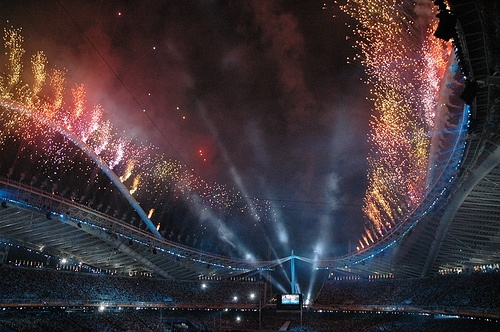 Athens 2004, Closing Ceremony by Panos Karageorgakis, via Flickr