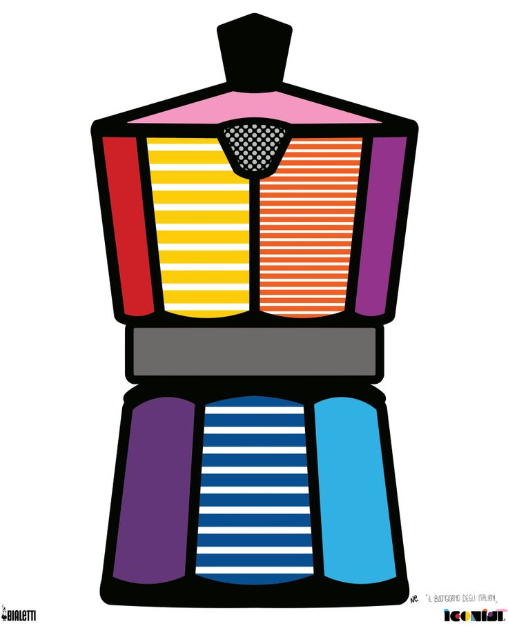 #Moka #Icon #Design #PopArt #Iconist