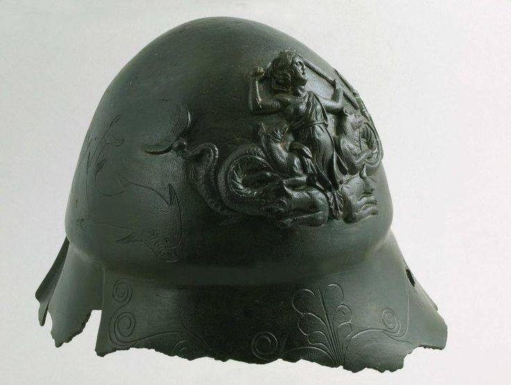 Boeotian helmet, probably 2nd century B.C. Sofia museum
