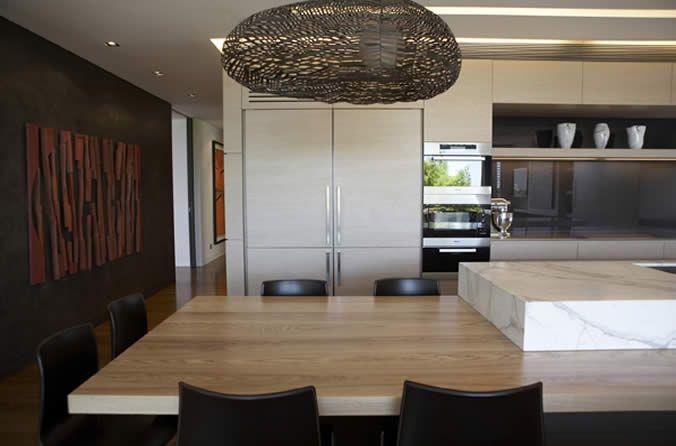 Hare + Klein | Interior Designers @Lorinda Wright Williams timber benchtop x