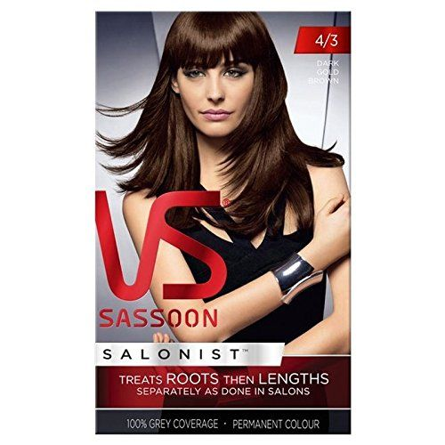 Introducing Vidal Sassoon Hair Dye Dark Gold Brown 43. Get Your Ladies Products Here and follow us for more updates!