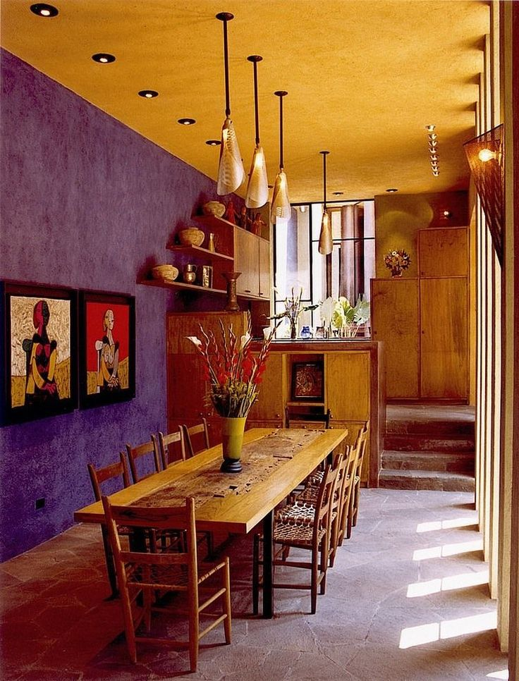 17 best ideas about mexican dining room on pinterest for Mexican home decorations