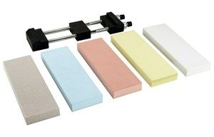 5 Stone Naniwa Sharpening Stone Kit