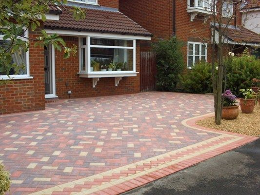 block paving patterns google search driveway. Black Bedroom Furniture Sets. Home Design Ideas