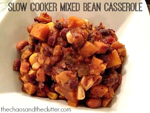 how to cook mixed beans in a slow cooker