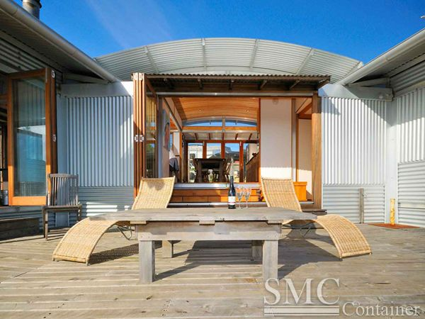 82 best images about container houses on pinterest for Prefab beach homes