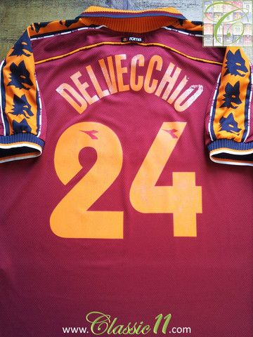 16 best images about classic roma football shirts on for Classic house 1998