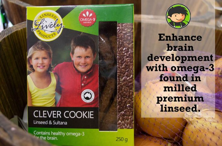 Enhance brain development with healthy omega-3 found in milled premium linseed. Perfect to pop into your childrens lunch box or as a healthy addition to the cookie jar. Try them – your taste buds ...