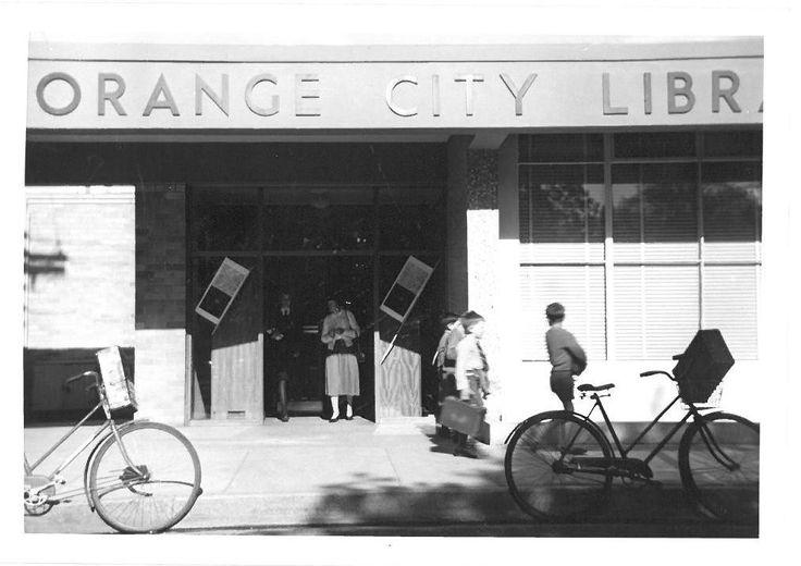 Orange City Library, McNamara Street 1956
