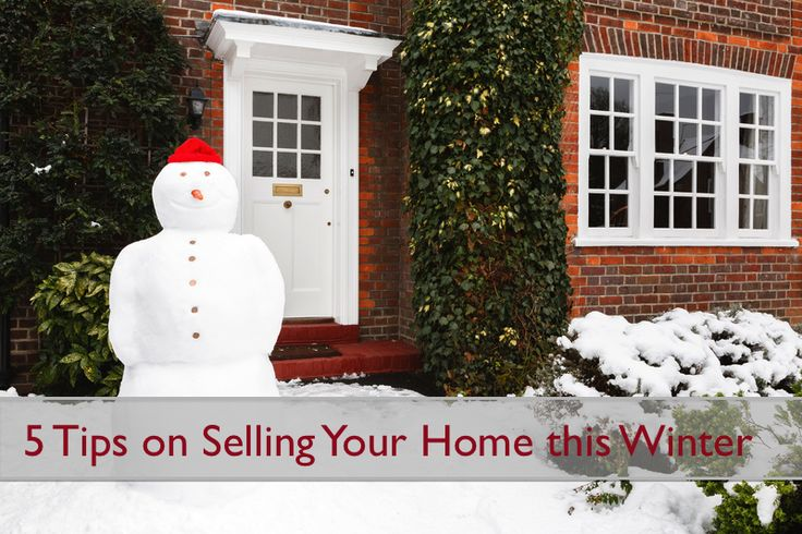 Tips on Selling your home this #winter. #realestate #sellers #tips #tessierteam #exitrealtymatrix