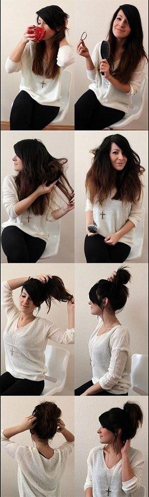 messy-bun-teased-hair-how-to-hacks-tips-tricks