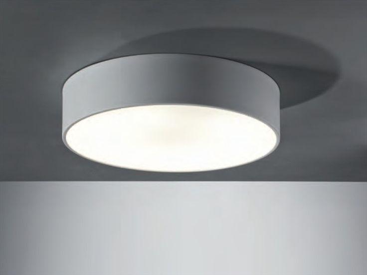 Fluorescent ceiling lamp Puck Collection by ATEH   design Miloš Zimula