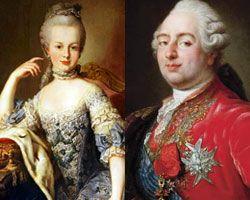 Marie-Antoinette et louis XVI