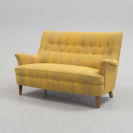 CARL MALMSTEN, A Carl Malmsten Sofa, Second Half Of The 20th Century.