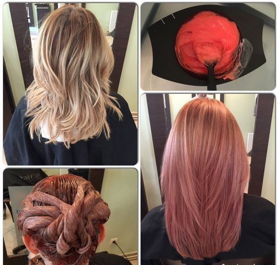 fabelhafte rose gold haarfarbe 2017 hair coloring. Black Bedroom Furniture Sets. Home Design Ideas