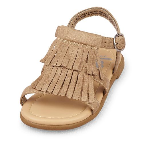 Image for Toddler Girls Fringed Zahara Sandal from The Children's Place