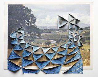 Andrew Lacon mixed media / photo-montage - art2day