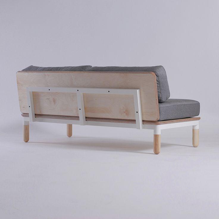 R2 sofa by Ukrainian design bureau ODESD2. Designer: Valentyn Luzan.