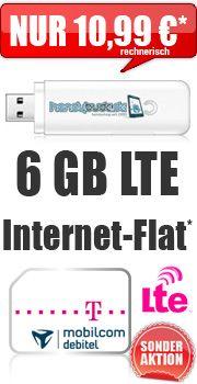 #LTE 6000 mit #Telekom Internet-Flat 19.99 Aktion Vertrag! bestellen http://go.hbude.de/1Gtt0IW