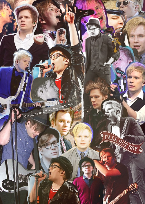 Patrick Stump. Yeah. I need this in my room.