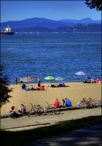 Stanley Park – Second Beach / Third Beach  #vancouver #jeffpatrickrealtor