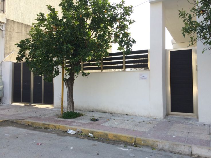Aluminium with Deck fences and doors http://alouminia-koufomata.gr