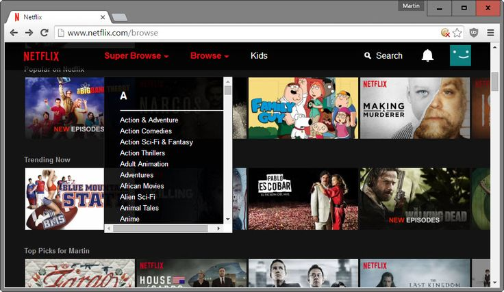 Browse hidden categories on Netflix with Super Browse