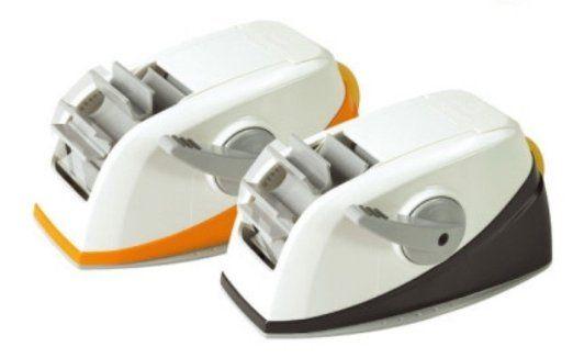 3M Scotch Tape Straight Cutting Dispenser_One Touch (Orange) : Comfortable Tape Dispenser + 2 Tape + #auto cutting