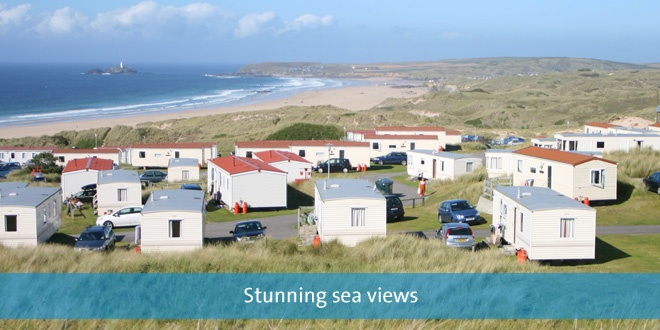 St Ives Bay Holiday Park - stay here many time - lovely place - friend staff - all round great accommodation