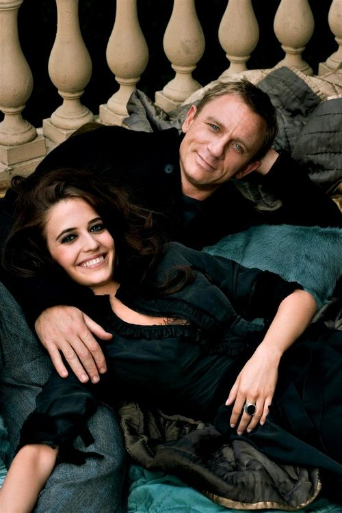 Daniel Craig and Eva Green two of the most beautiful people in the world!!