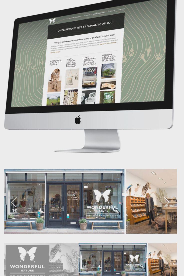 Grafisch ontwerpers Windkracht 10 tekende met veel plezier voor de complete uitstraling van Wonderful Nature. Van het logo, de tekstconcepten en de website tot de fotografie en de belettering van de winkel.