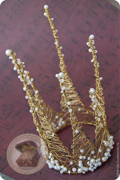 """Корона """"Паутинка"""" - корона,корона для принцессы,корона для фотосессии"""