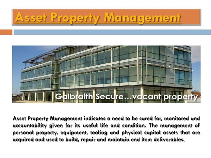 Commercial Property Management  Visit this site http://www.galbraithproperty.com/services/commercial-property-services/ for more information on Commercial Property Management.Commercial Property Management is the key to making your investment pay off. Managing your property well while help you to get and keep tenants and will help you to improve your property value so you can benefit from property appreciation. They have knowledge, infrastructure and expertise to help their clients to ...