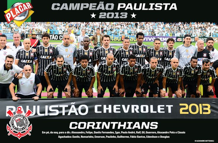 Sport Club Corinthians Paulista Paulista Champion 2013
