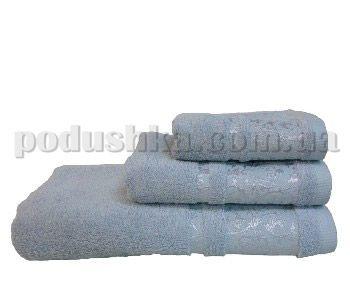 Полотенце махровое Home line Бамбук голубое
