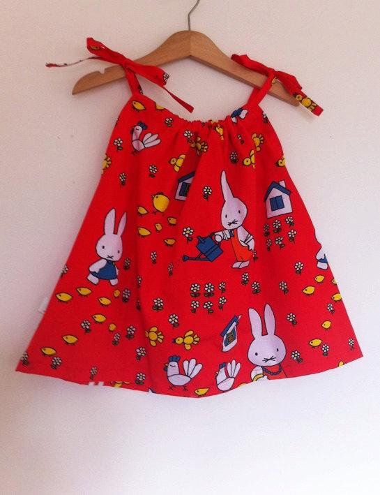 Miffy Summer Dress Size 12 Months