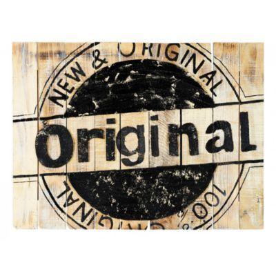 Produit : ORIGINAL - Plaque De Bois A Suspendre 80x60 Cm Naturel/noir Thème : Deco 100% naturelle Ajouté à la liste de Dorine via 35ansFly.f...