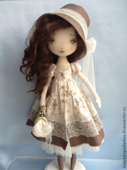 Коллекционные куклы ручной работы. Ярмарка Мастеров - ручная работа Кукла Эмма. Handmade.