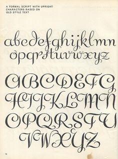 letras para escribir correcto.