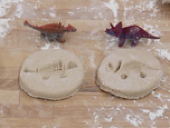 Salt Dough Dinosaur Fossils | Kids Crafts & Activities for Children | Kiwi Crate
