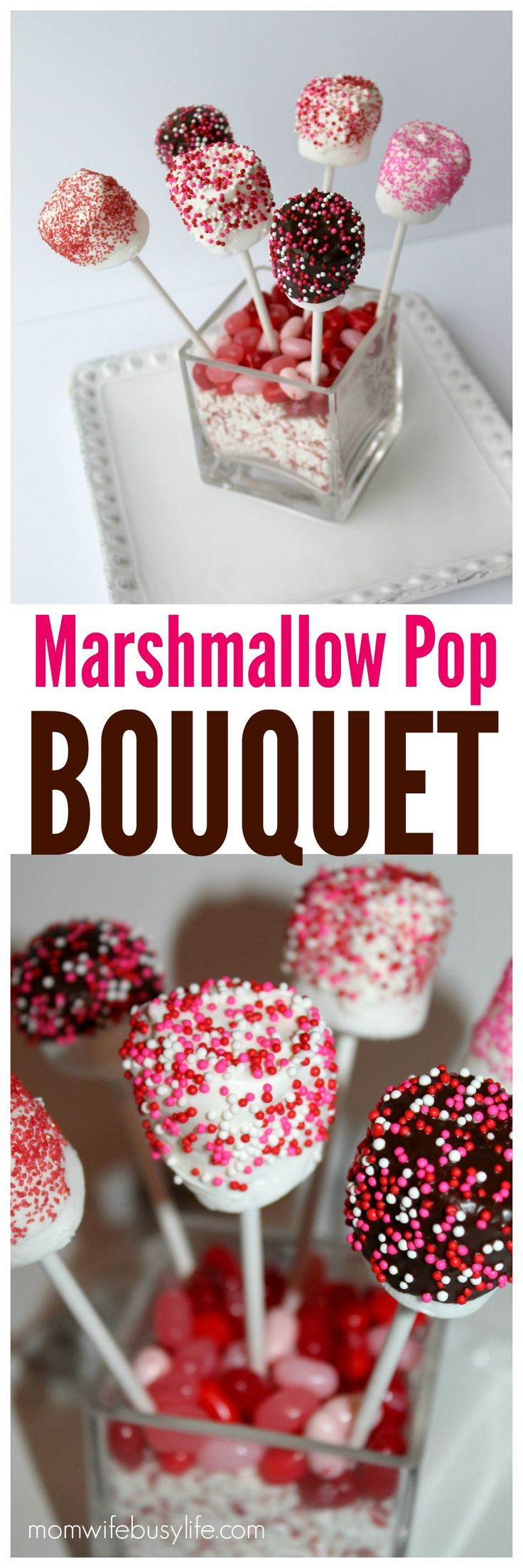 Valentine's Day Marshmallow Pop Bouquet | DIY Valentine's Day Gifts | Marshmallow Pops
