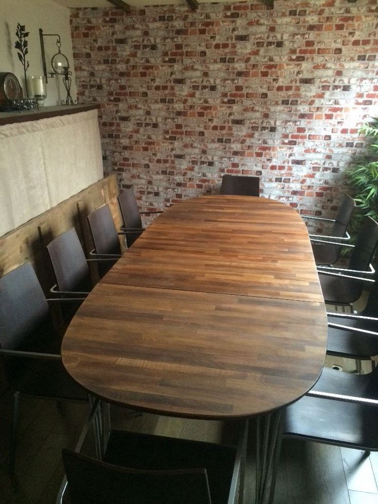 beautiful danish solid wood extendable dining table by haslev and 10 modern chairsin kensington beautiful danish solid wood extendable dining