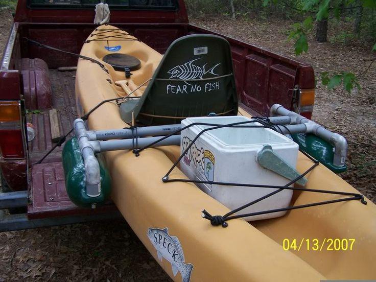 Kayak stabilizers - Texas Fishing Forum