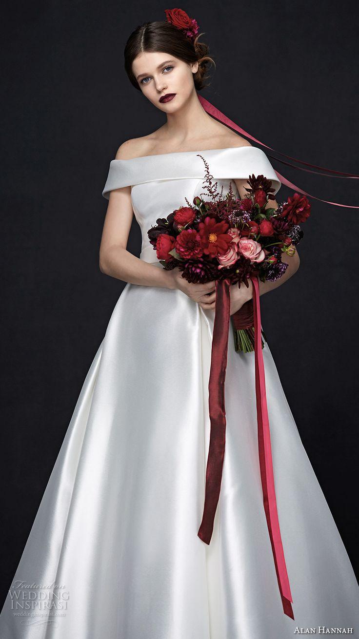 "Alan Hannah 2017 Wedding Dresses - ""Porcelain"" Bridal Collection"