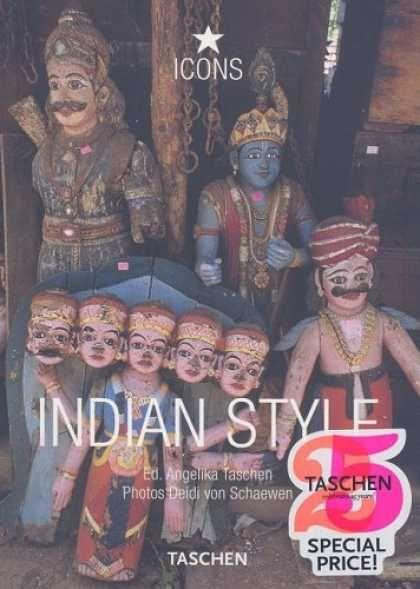 Taschen Books - Indian Style: Landscapes, Houses, Interiors, Details (Icon (Taschen))
